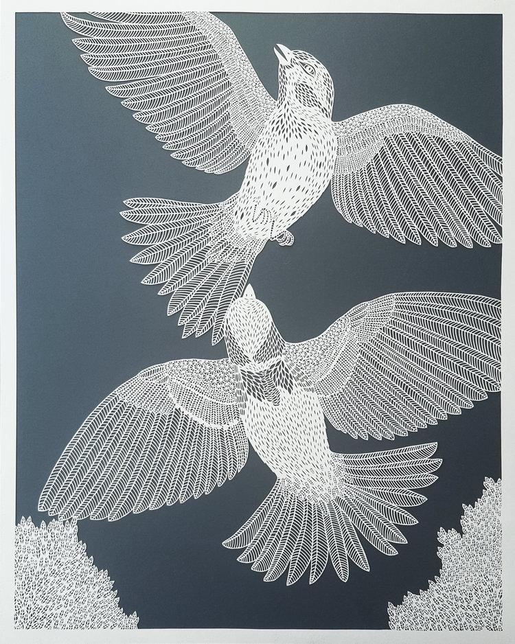 Oiseaux ET Treetops