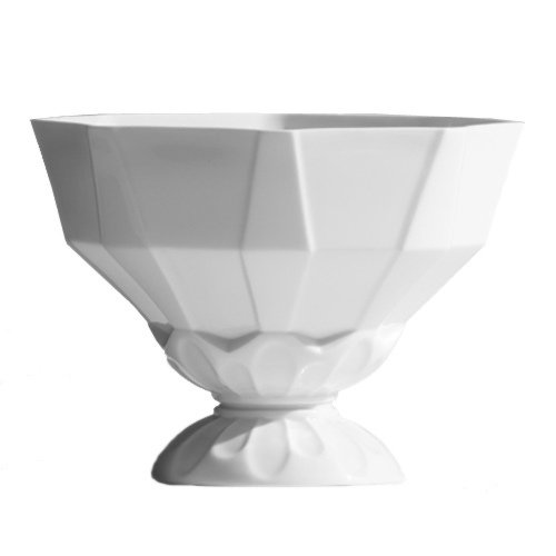 Faccette Alessandro Mendini Industreal Variations Collection white glazed porcelain