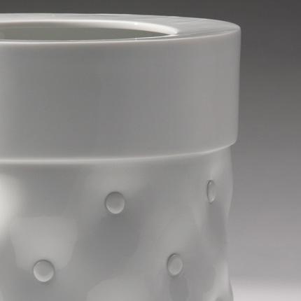 Vase Capitonne   Vautrin, Delvigne   Vases Textures Collection