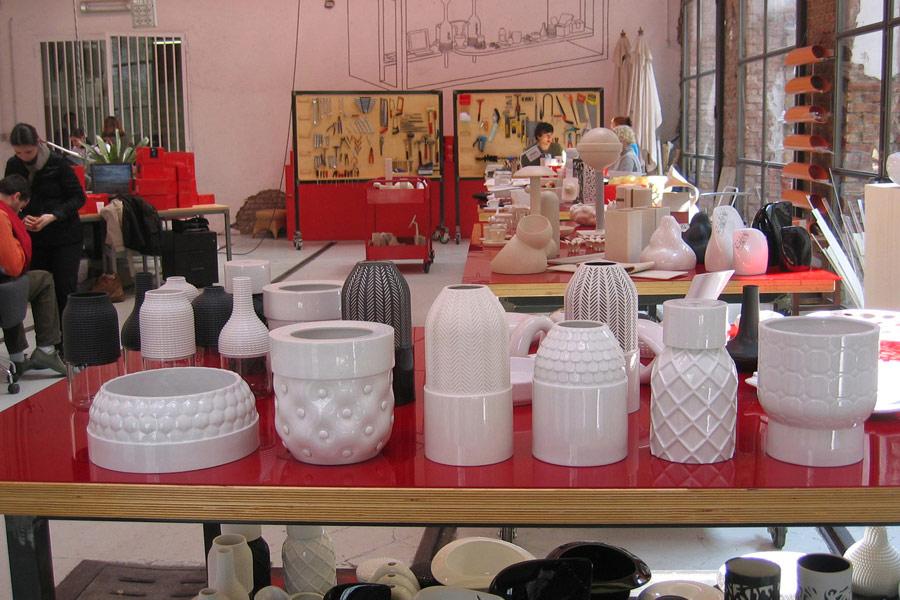 Vases Textures Vautrin, Delvigne  Atelier ONEOFF