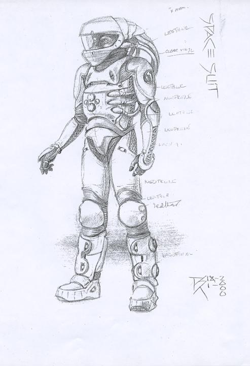 Jason X (2001) - Space Suit