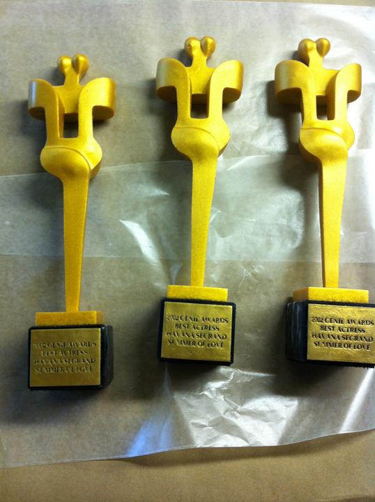 Cosmopolis (2012) - award replicas