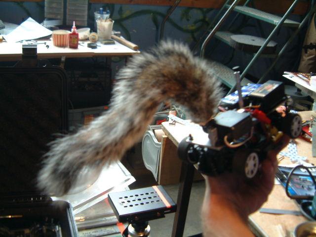 Tideland (2005) - mechanical squirrel