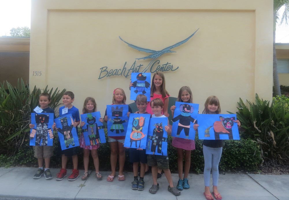 Visit the Beach Art Center website to see camps offered in the coming weeks.
