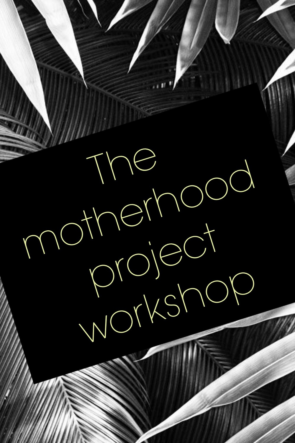 Flyer I created for the workshop. I also created a Facebook event to help get the word out to interested participants.