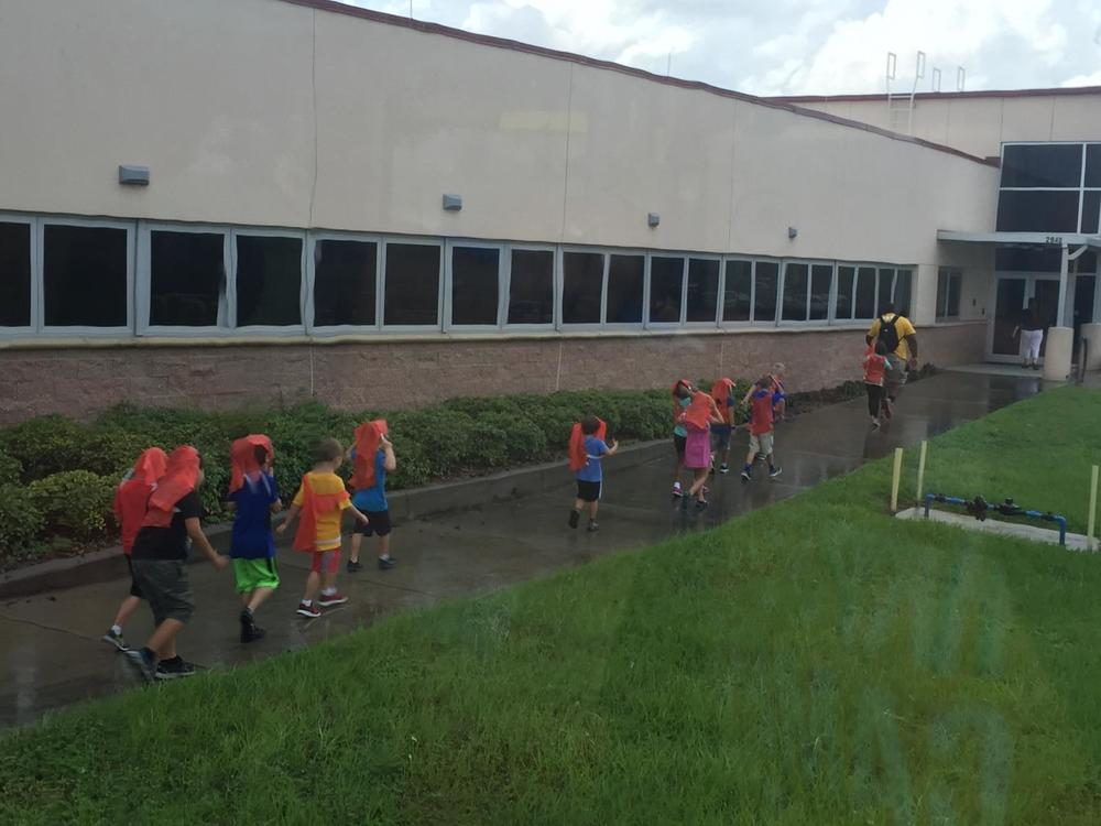 "Campers had a ""hands-on experience"" with Mother Nature while on a field trip to the Pinellas Solid Waste Management facility!"