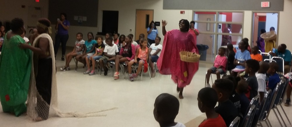 ARTZ 4 Life was excited to allow Dundu Dole Urban African Ballet performers provide an education workshop performance at the Childs Park YMCA this past Thursday June 23, 2016, the first of ten sponsored by the Creative Pinellas Rapid Returns Grant. Company members conducted and interactive performance for sixty youth from Childs Park and Harbordale YMCA's in South St. Petersburg. The youth experienced the significance of cultural development to geography, history, language, drumming, folklore, science, music and dance. The event was INCREDIBLE. Everyone was so EXCITED and we all learned so much and had so much FUN!!!      Stay Tuned for eight more experiences next week.