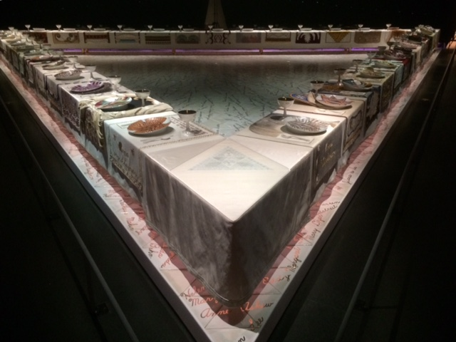 Judy Chicago's Dinner Party at the Brooklyn Museum