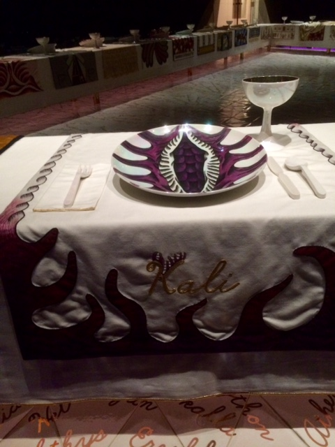 Place setting for Kali