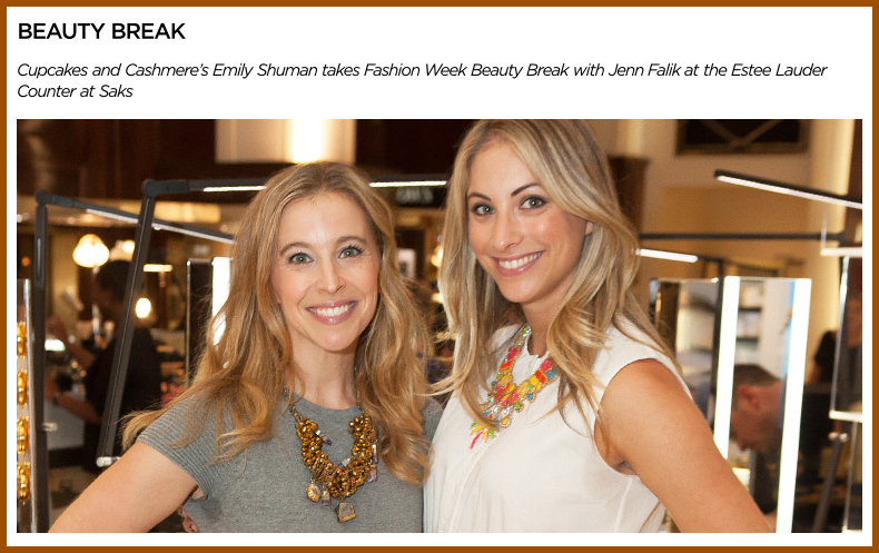 Emily Schuman of Cupcakes and Cashmere talk beauty with Jenn Falik