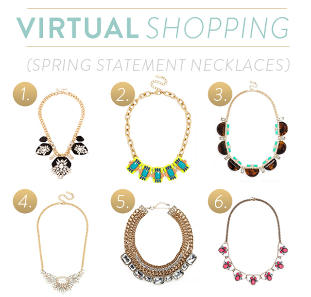 Statement Necklaces for Spring from Baublebar