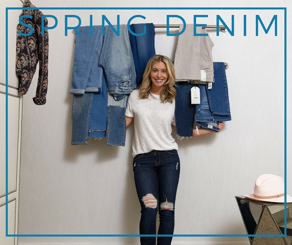 Jenn Falik Spring Denim with Mitchells