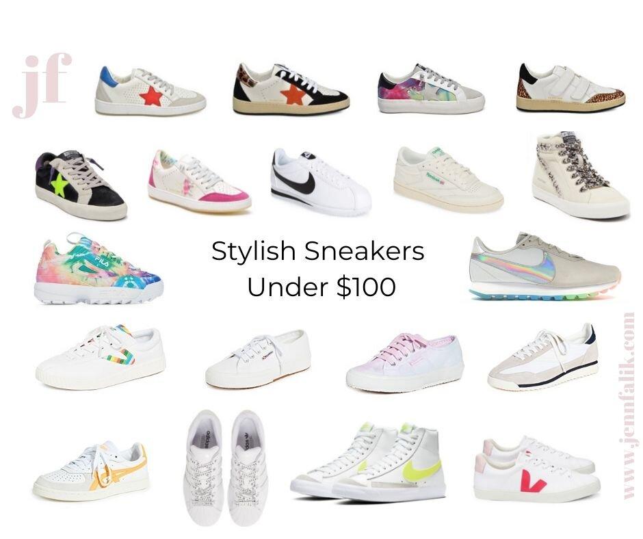 Under $100 Sneaker Edit — Jenn Falik