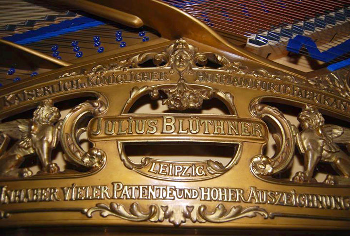 Blüthner instruments can really sing.