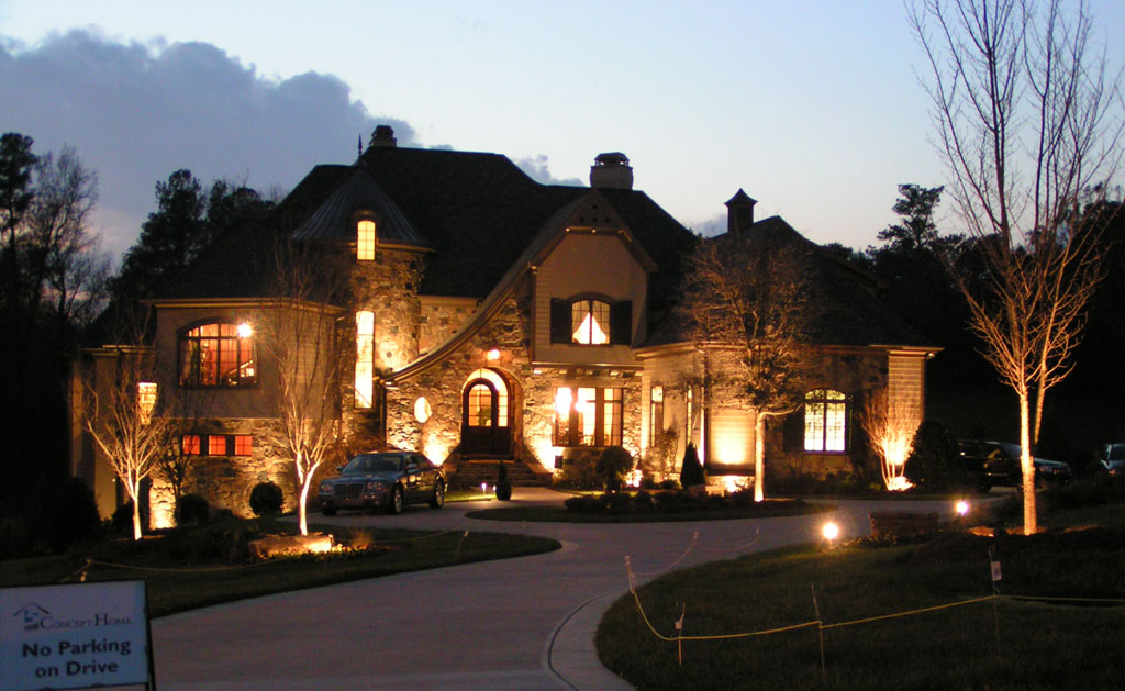 Custom Landscape Lighting Design And Installation Residential And