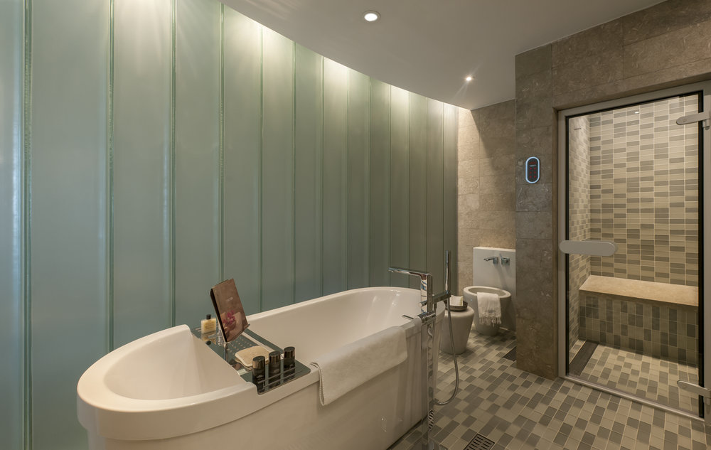 A private hammam at the Park Hyatt Istanbul