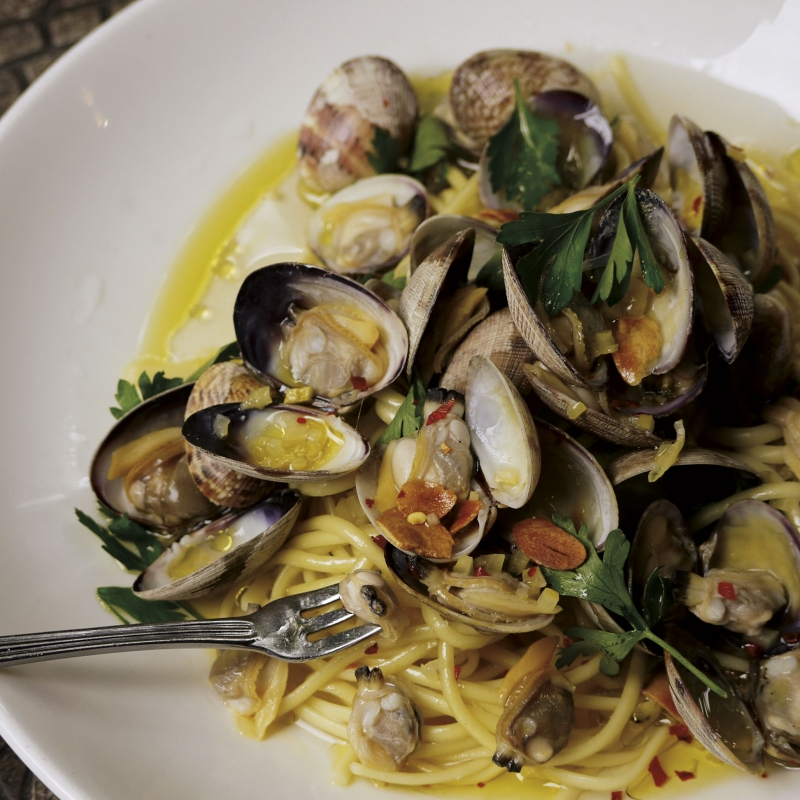 - Preserved lemons provide a wallop of flavor that chefs are embracing. The linguine at Tulio in Seattle is served with clams, preserved lemons, chili flakes and garlic breadcrumbs.Photo by Margo Helgen.