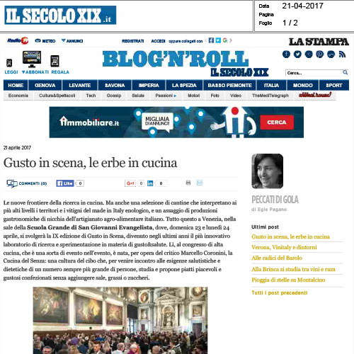 "<p><strong>IL SECOLO XIX</strong><a href=""/s/GustoInScena-Il-Secolo-XIX.pdf"" target=""_blank"">Download</a></p>"