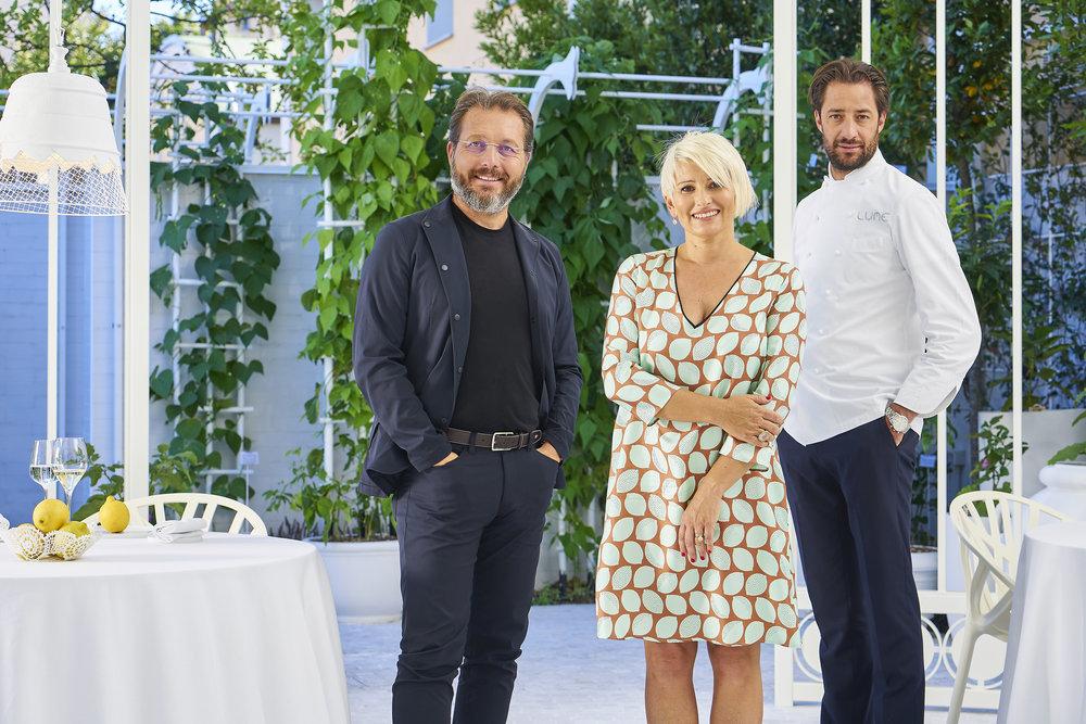Marco Bruzzi, Monica Melotti, Luigi Taglienti
