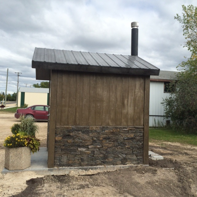 Precast Concrete Outhouse