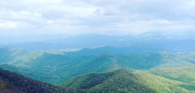 Looking into North Carolina's Mountains