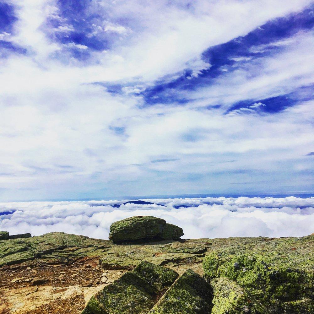 From the summit of Mt. Lafayette, Franconia Ridge