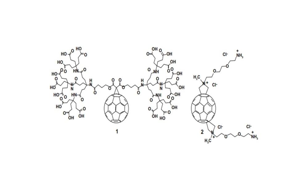 Figure 1 dendrofullerene and trans-2 isomer of fullerene