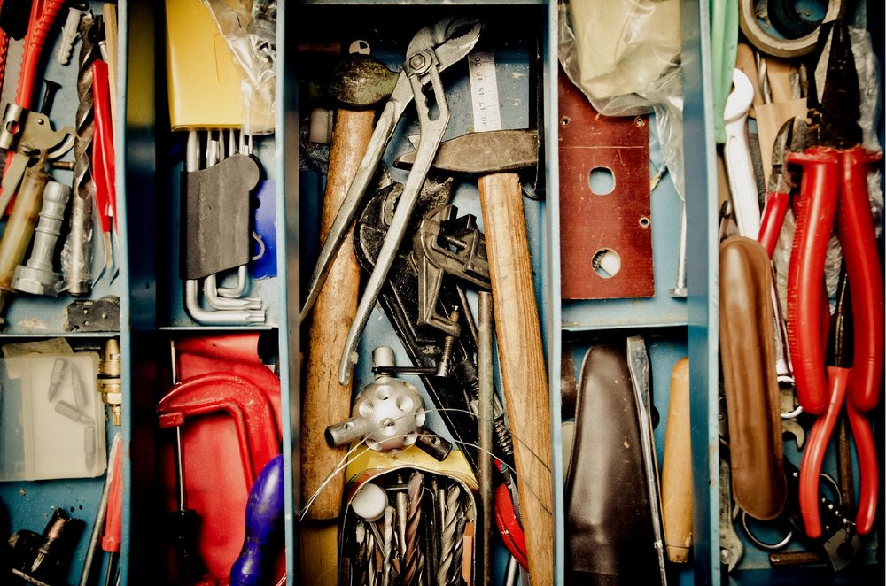 OUR TOOLBOX IS OVERFLOWING - and always growing.