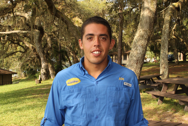 Alejandro Benarroch (Program Coordinator) Alejandro is the soul of the camp for his energy, his creativity and his level of commitment. Guaikinima staff since 2012, started as a counselor, then as water sports coordinator, wakeboard instructor, kneeboard, waterski and Program Coordinator in 2017. Alejandro is studying International Business at Broward College, enjoys fishing and extreme sports. Alejandro gives Guaikinima a unique touch and is well liked by his campers. If you are ever looking for Ale in the camp, follow his loud voice or go direct to the boat!!