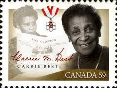 first African woman Nova SCOTIA to own a newspaper