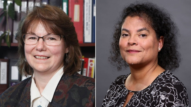 Judges Catherine Benton and Ronda von der Hoek (Picture borrowed from  CBC News)