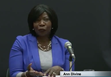Ann Divine provides her perspective on racism -