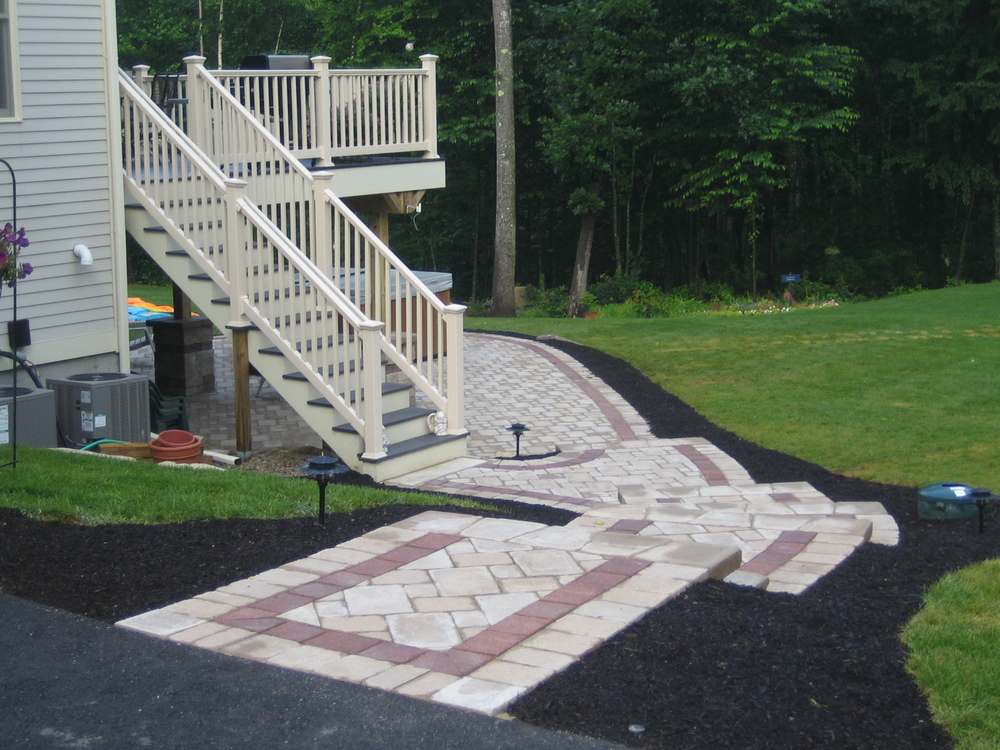 after pic 1a Unilock pavers with border bedford.jpg