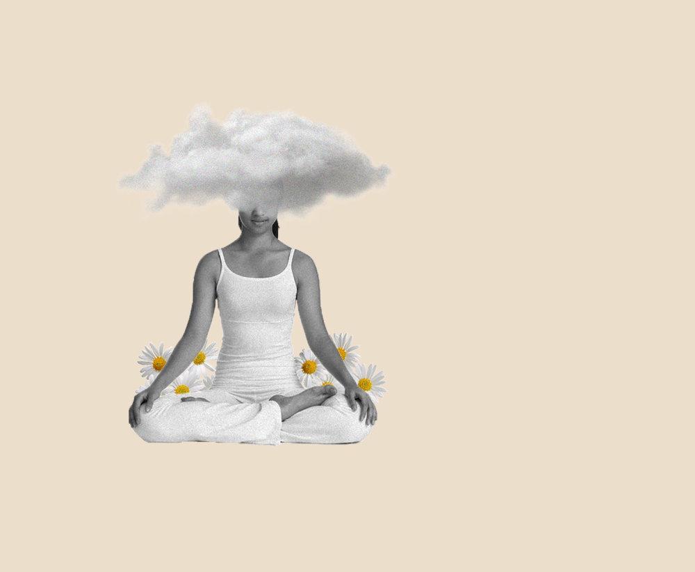 Illustration for a yoga's website