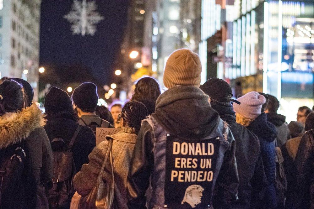 2016-NYC-New-York-Trump-Protest-March-Hispanic-Spanish-Sign-Back