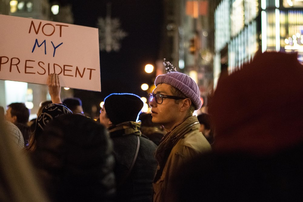 2016-NYC-New-York-Trump-Protest-March-Person