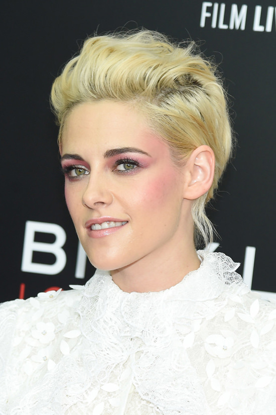 Makeup Beau Nelson created for Kristen Stewart for 2016 New York Film Festival.  omandlorenzo.com