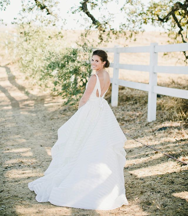 Classic, authentic, timeless.  Beauty by Stylists Christa and Rachel Coordination: @bravoweddings  Photographer: @myonelove  Gown: @blushbyhayleypaige  Venue: @meritageresort