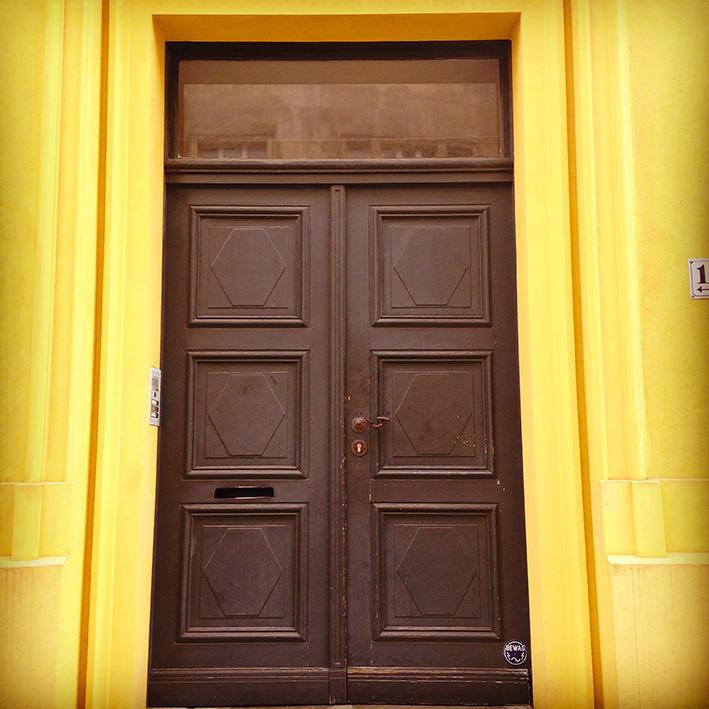 Berlin Yellow House