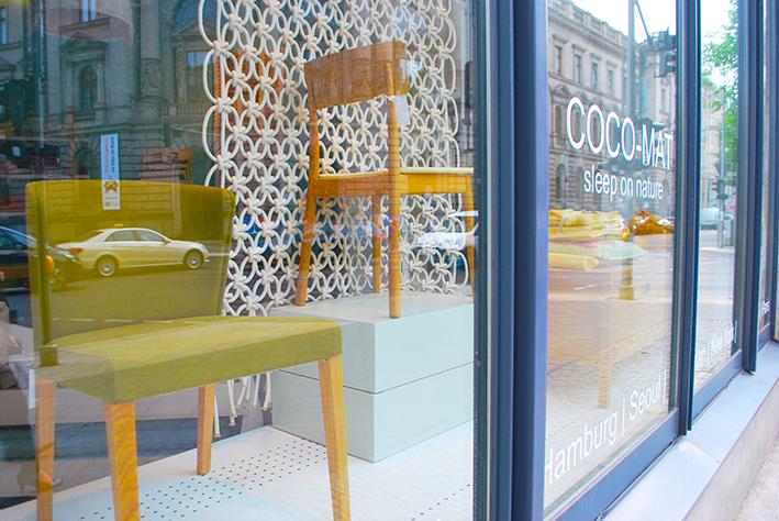 Coco Mat Berlin Shop Window