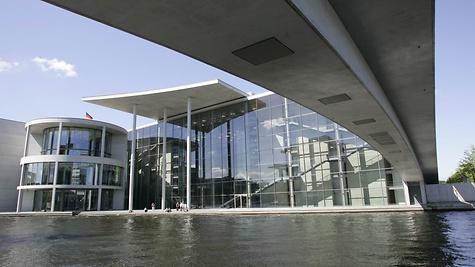 Das Paul-Löbe-Haus beherbergt die Ausschüsse des Bundestages. ©DBT/Reiss