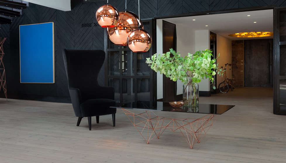 Tom Dixon  Copper Shade Cluster Lighting