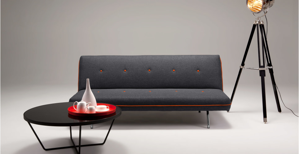 The stylish Miki sofabed by  made.com