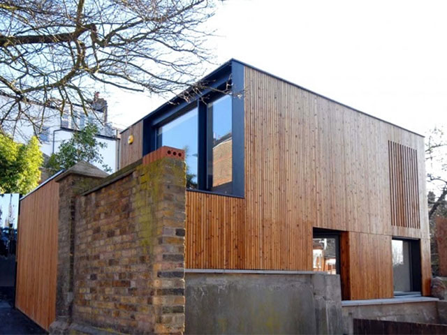 A self build in Crouch End,  London. Image Credit