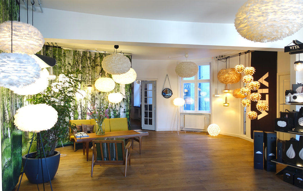 Vita's beautiful showroom in the heart of Copenhagen.