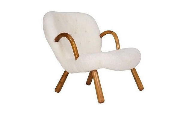 Philip Arctander's Clam Chair