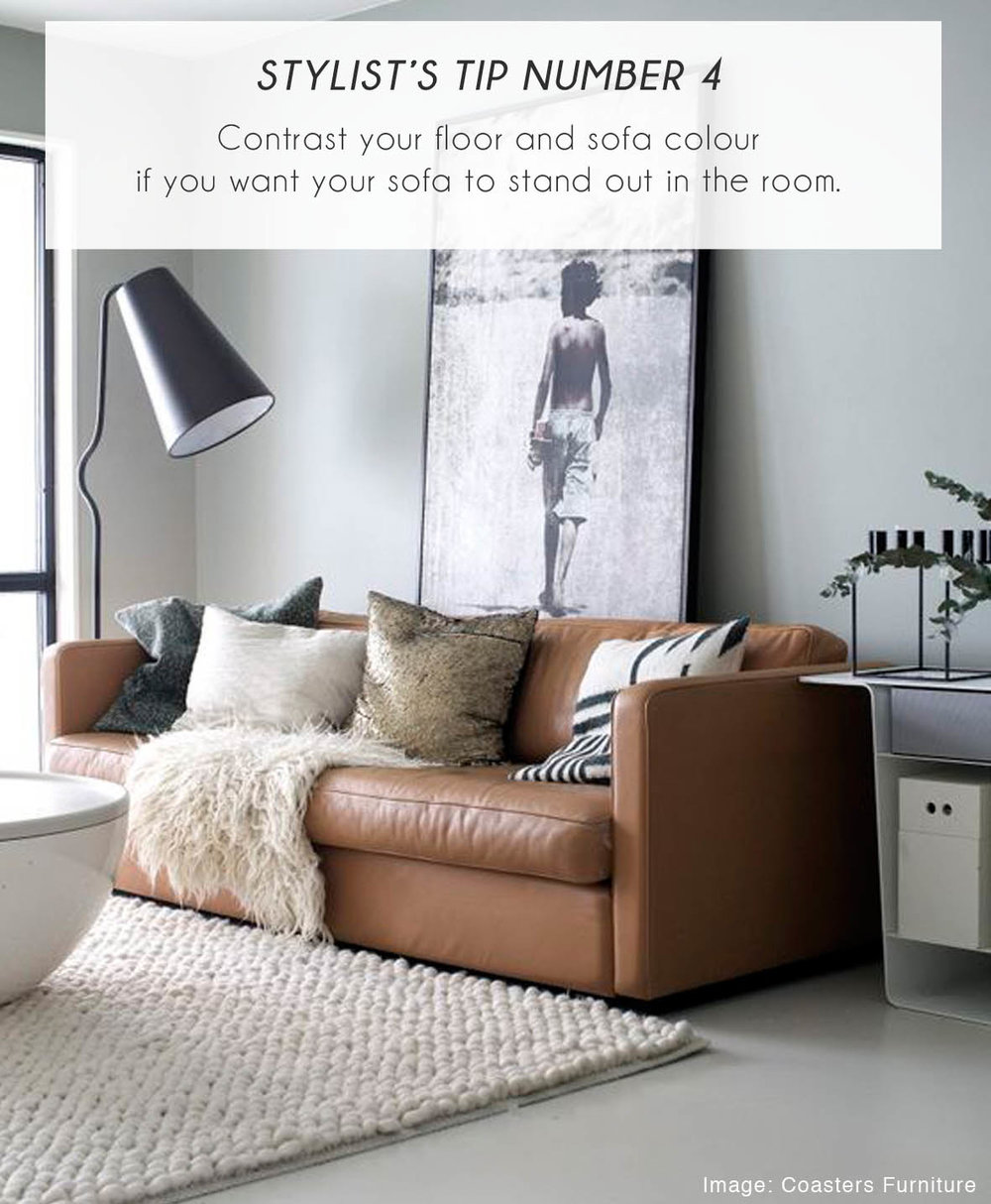 Stylist Tips for sofa 4