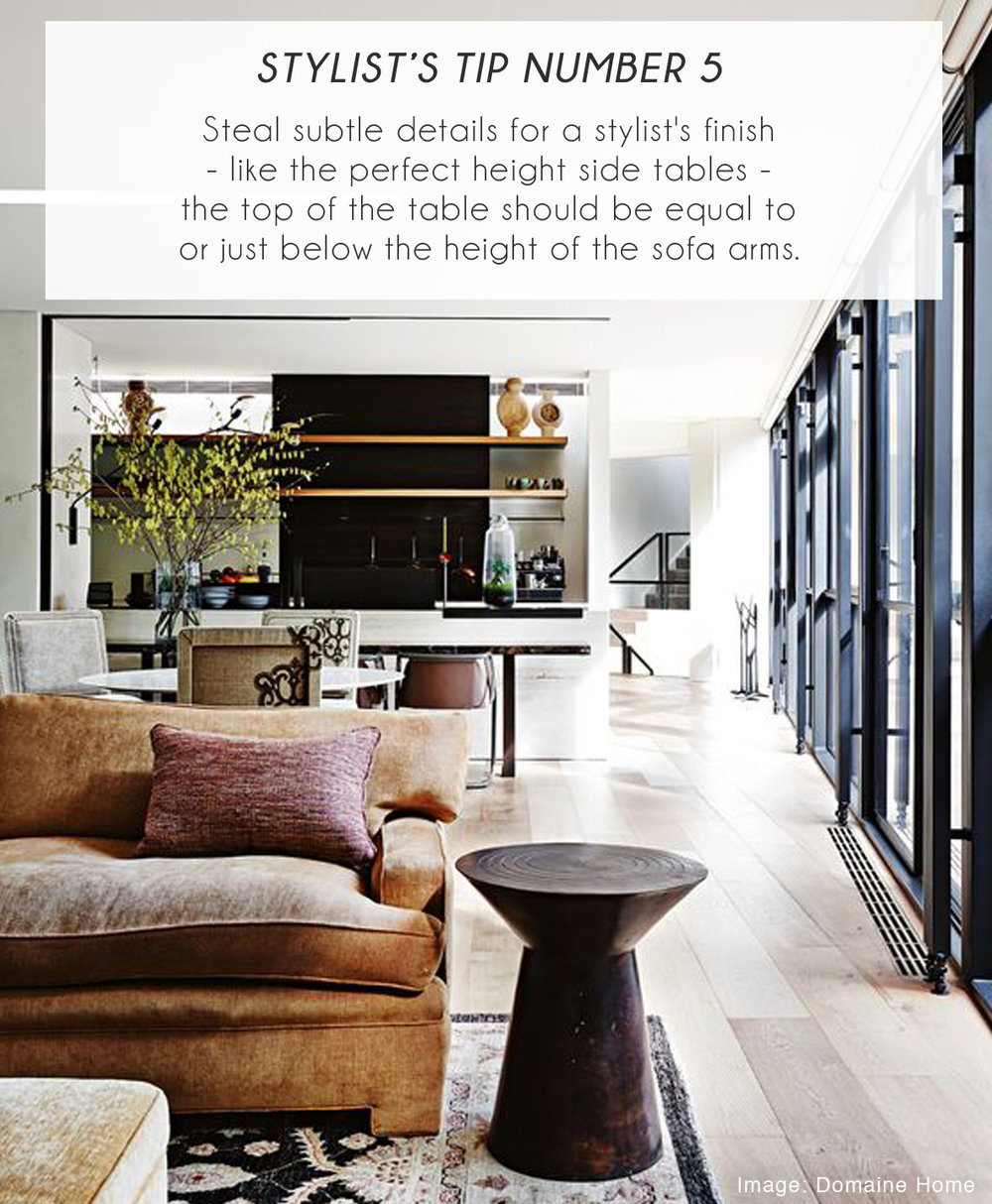 Stylist Tips for sofas 5