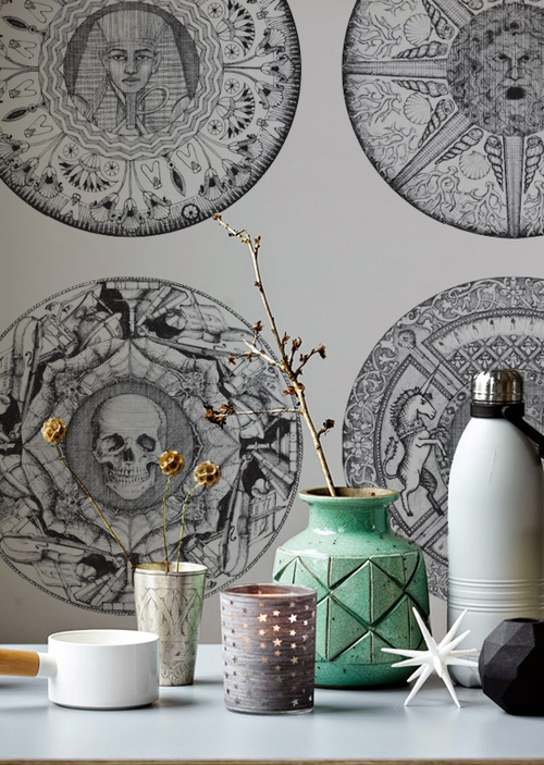 Wallpaper from the Iris Collection. Image: HMS Studio