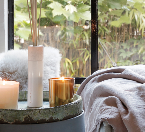 Home fragrance sticks and candles by Rituals. Image: Rituals